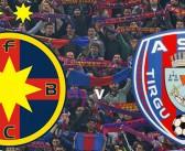FCSB vs ASA Targu Mures. Lupta la titlu continua